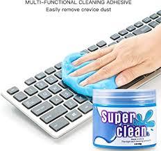 JUST <b>N1</b> Keyboard Cleaning Gel Soft Sticky Dust Cleaner Mud Gum ...