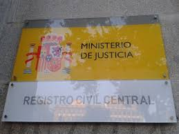Resultado de imagen de MINISTERIO JUSTICIA REGISTRO CIVIL