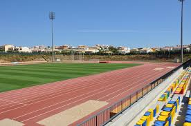 athletics track in Lagoa
