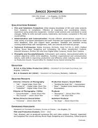 Resume Overview Samples  objectives for resume samples  bitwin co