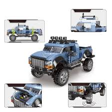 <b>500pcs+</b> Gift SUV Game Car Pickup Model CAR Bricks Toys Buggy ...