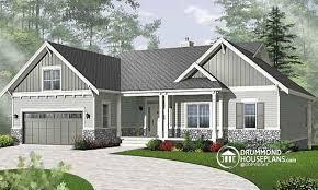 House plan W  V detail from DrummondHousePlans comfront   BASE MODEL Spectacular lake house   walkout basement  bedroom Craftsman   game
