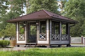 Дом Беседка - <b>барбекю</b> размер 4х4 » Каталог » Терем | www ...