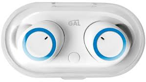 Беспроводные наушники с микрофоном <b>Gal TW-3300 White</b> ...