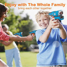<b>Infrared Laser Tag</b> Toy Guns Blaster Laser Battle Set Family Activity ...
