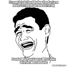 Strength Is Defined By How You Perform Under Extreme Pain And ... via Relatably.com