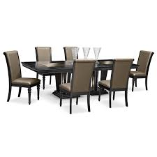 Furniture Living Room Furniture Dining Room Furniture Paradiso 7 Pc Dining Room By Najarian Lodge Canopy Living Msqrdco
