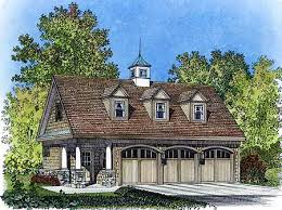 Carriage House Plans   e ARCHITECTURAL design   Page Plan W PF  Picturesque Garage Apartment