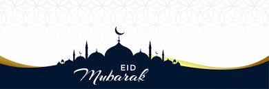 Free Vector | Clean <b>eid mubarak</b> mosque banner design