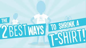 How to Shrink Your T-<b>Shirt</b> With and Without a Dryer - YouTube