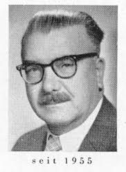 1947 wurde <b>Karl Röder</b> emeritiert. Sein Nachfolger wurde 1948, <b>...</b> - Fluegel