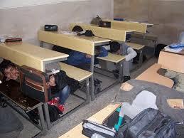 مانور زلزله در مدارس مهدیشهر
