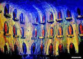 Image result for an underground city of giants discovered in the grand canyon