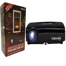 love halloween window decor: null seasonal window fx projector animated window display kit