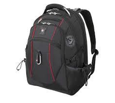 """<b>Рюкзак WENGER 17</b>"""", 38 л (чёрный/красный). Скидка 459 руб."""