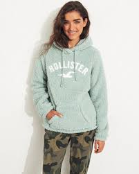 Girls Hoodies & Sweatshirts Tops   HollisterCo.com