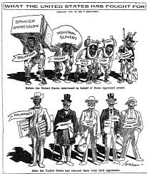 united states involvement in the mexican revolution 1914 cartoon by john t mccutcheon illustrates the united states liberated former spanish colonies from their oppressor chicago tribune 1914
