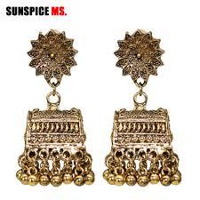 SUNSPICE MS <b>Retro Vintage Indian</b> Earring Jewelry Women ...