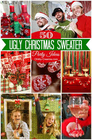 50 Ugly Christmas <b>Sweater</b> Party Ideas - Oh My Creative
