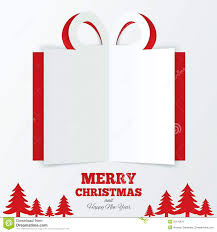 christmas gift box cut the paper christmas tree royalty christmas gift box cut the paper christmas tree