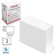 Купить <b>Полотенца бумажные</b> 200 штук, <b>ЛАЙМА</b> (Система H2 ...