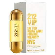 <b>Женская парфюмерная вода</b> CAROLINA HERRERA 212 VIP, 50 мл