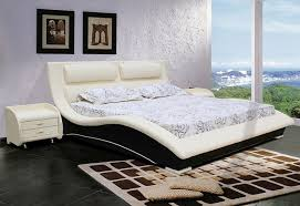 contemporary bed design for bedroom furniture napoli cream and black series by matisse bed furniture designs pictures