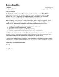 more public relations cover letter examples best cover letter templates