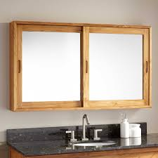 Rustic Wood Medicine Cabinet Wood Medicine Cabinets With Mirror Roselawnlutheran