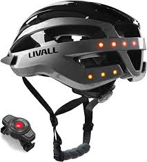 Livall Unisex's <b>MT1</b> Music, Silver/Black, Large: Amazon.co.uk ...