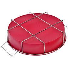<b>Форма для выпечки на</b> подставке силикон, 25x6 см, силикон в ...
