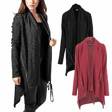 <b>Urban Classics</b> Damen Cape Ladies Fine Knit <b>Long Cardigan</b> ...