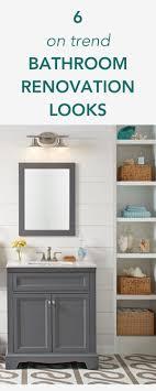 washstand bathroom pine:  on trend bathroom renovation looks