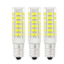 3X E14 LED <b>Bulb</b>,7W Equivalent <b>40W</b> Halogen <b>Bulb</b>,Cool White,360 ...