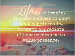 Life is so ironic     Quotes  Its Not  amp quot Always amp quot