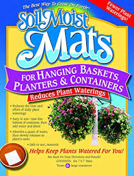 Soil Moist Mats For Hanging Baskets Planters and Containers <b>6pc</b> ...
