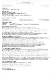 resume examples umd sample resume electra ohm