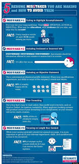 resume mistakes you are making and how to avoid them 5 resume mistakes you are making and how to avoid them infographic