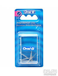 <b>Ершики конические</b> сменные ORAL-B <b>межзубные</b> для чистки ...