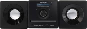 Микросистема <b>Hyundai H</b>-<b>MS280</b> черный купить в интернет ...