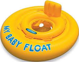 <b>Надувной круг с сидением</b> и со спинкой Intex My Baby Float 59574 ...