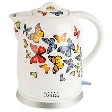 <b>Чайник DELTA DL-1233A</b> керамика 1500Вт 1,7л Бабочки (6 ...