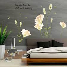 Элегантной <b>лилии цветы</b> стены стикер на стены наклейки дома ...