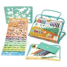 Drawing Stencils and Colored Pencils Arts and Crafts ... - Amazon.com