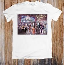 1960'S <b>DANCE</b> SCENE ретро постер унисекс футболка белый ...