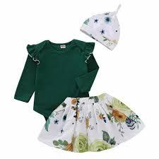Newborn Infant Fashion <b>Newborn Infant Baby Girls</b> Floral Cotton ...