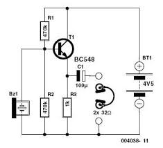 electronic stethoscope circuit