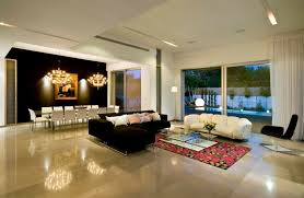 tiled living areas