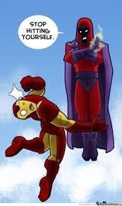 Ironman Vs Magneto by simple94 - Meme Center via Relatably.com