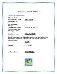 How To Write The Inside Address Of A Business Letter   Cover